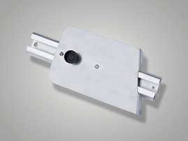 Transducer bracket, adjustable