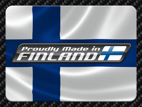 Faster - Proudly Made in Finland