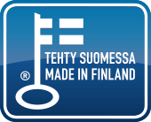 Faster - Made In Finland -logo 170px